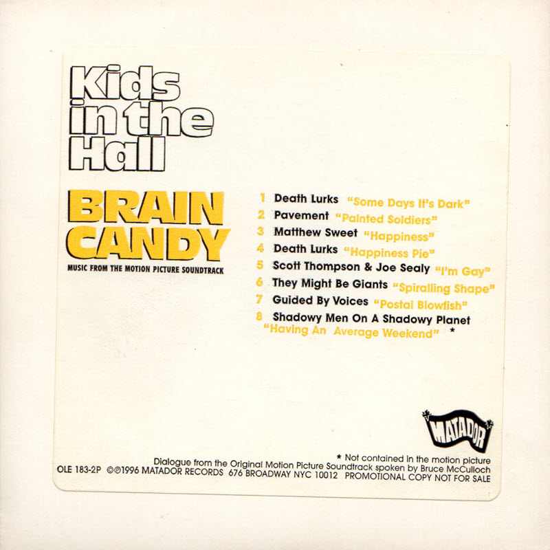 cover of Brain Candy Sampler