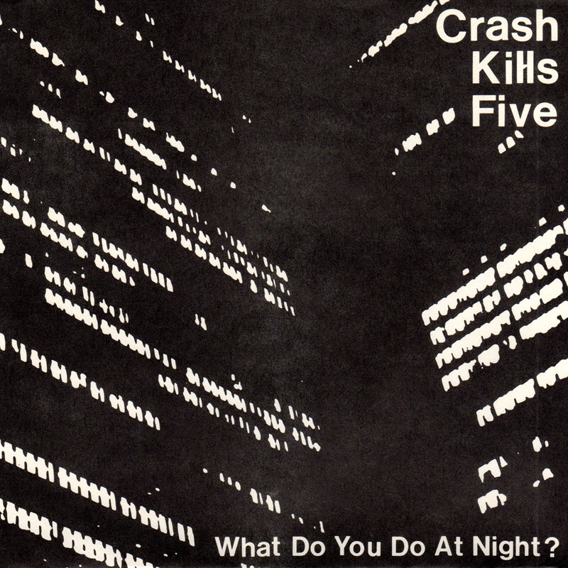 cover of the Crash Kills Five single