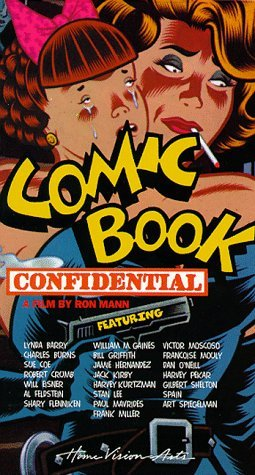 cover of the Comic Book Confidential video
