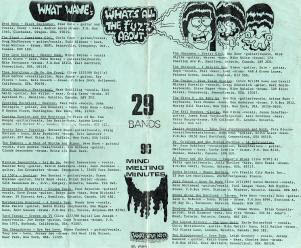 liner notes for What's All The Fuzz About