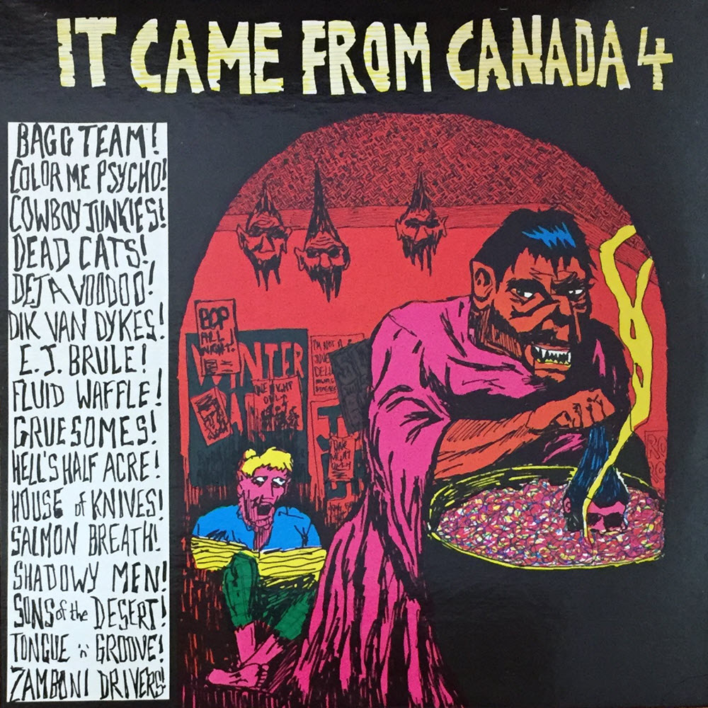 cover of It Came From Canada, Volume 4