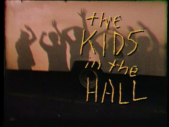 title screen from The Kids In The Hall