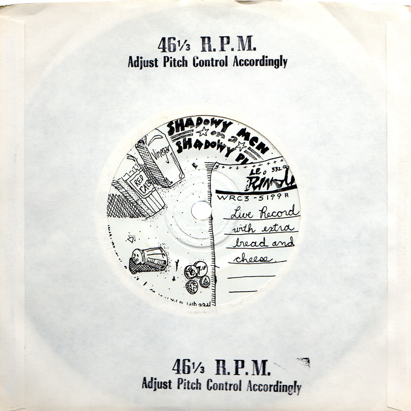 cover of Live Record With Extra Bread And Cheese