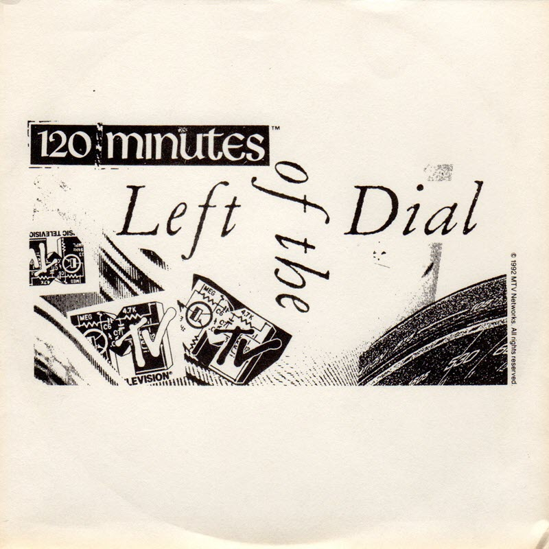 CD sleeve for Left Of The Dial