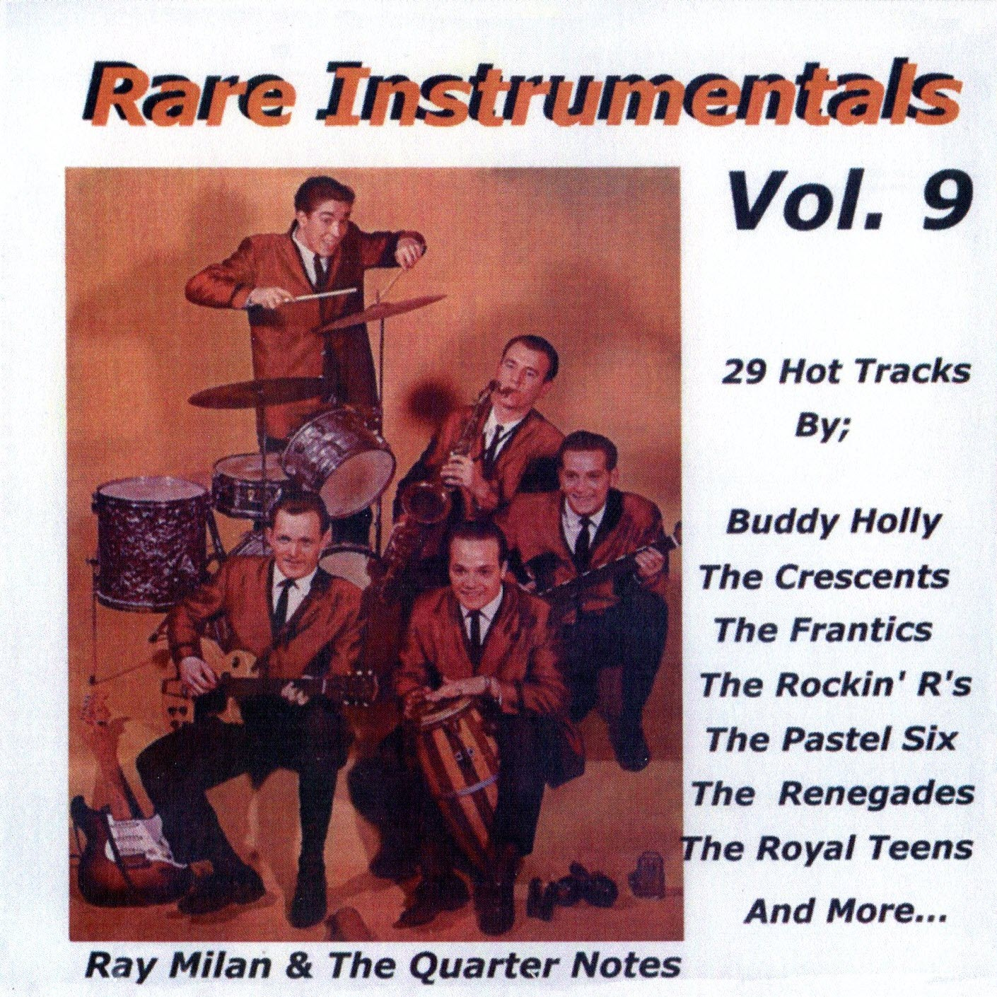 cover of Rare Instrumentals, Vol. 9