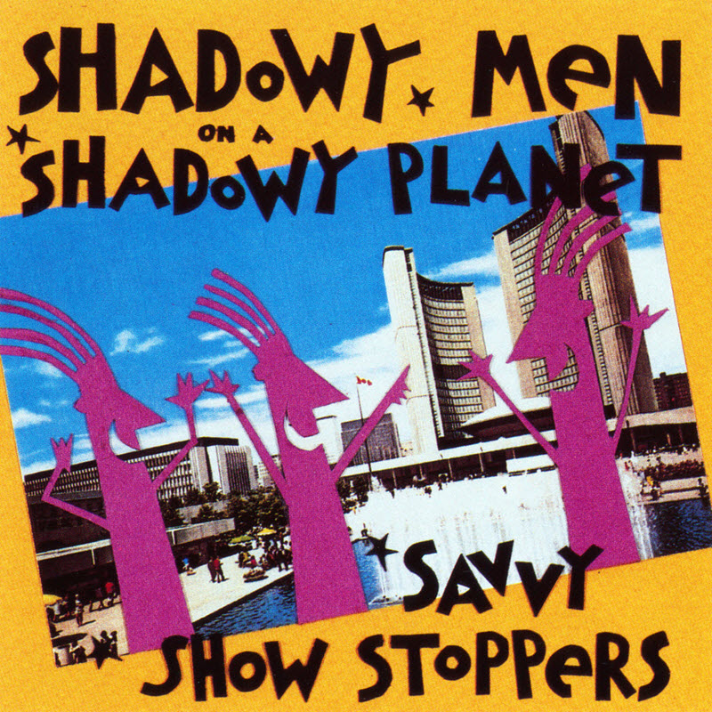 CD cover of Savvy Show Stoppers