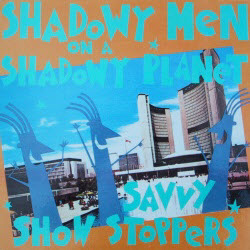 vinyl cover of Savvy Show Stoppers (Cargo)