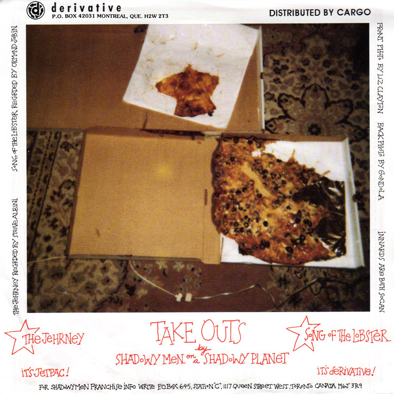 rear cover of Take Outs