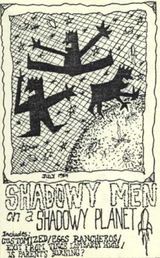 cover of the Shadowy Men cassette