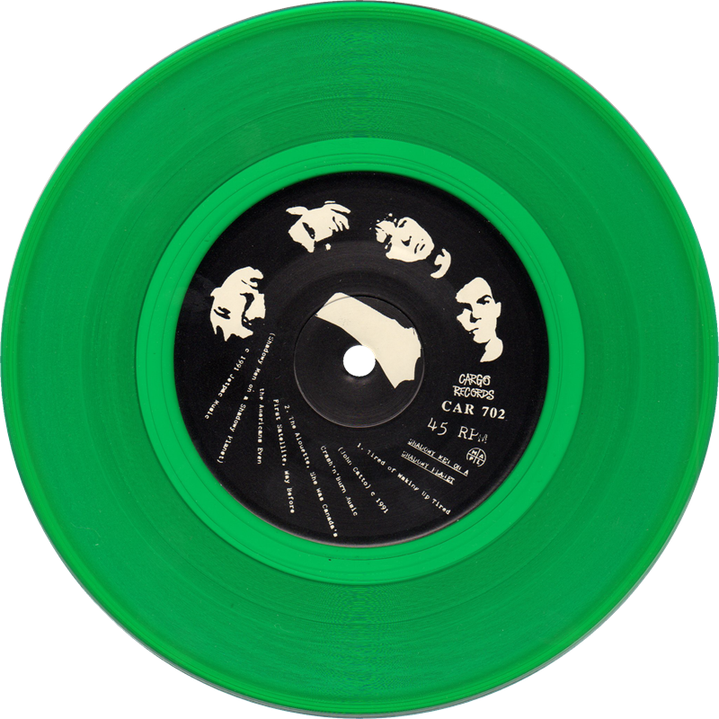 green vinyl of Tired Of Waking Up Tired