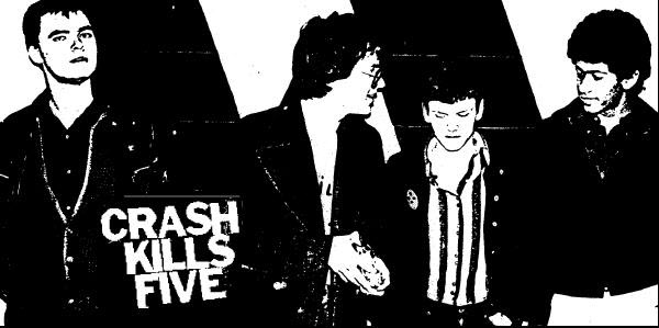 Crash Kills Five band photo